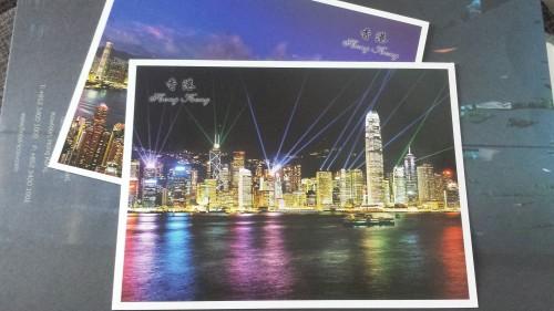 Quem me dera fotografar assim; o jeito foi tirar foto do cartão postal que enviei ao meu pai