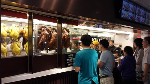 Restaurante de comida típica, dentro do aeroporto